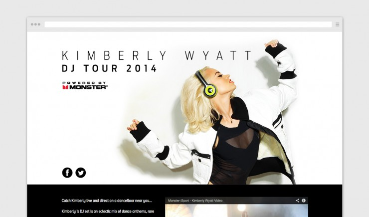 Kimberly Wyatt DJ Tour 2014