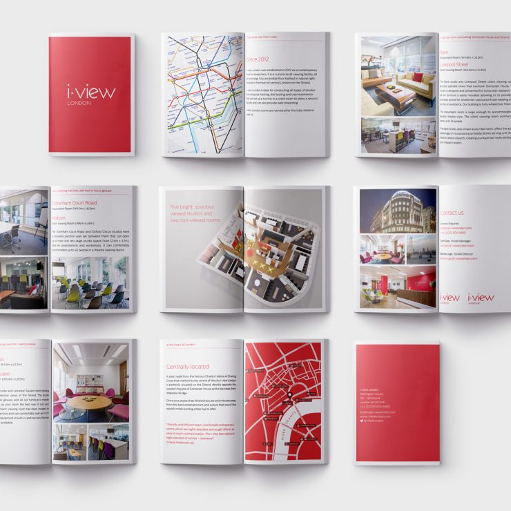 i-view London brochure